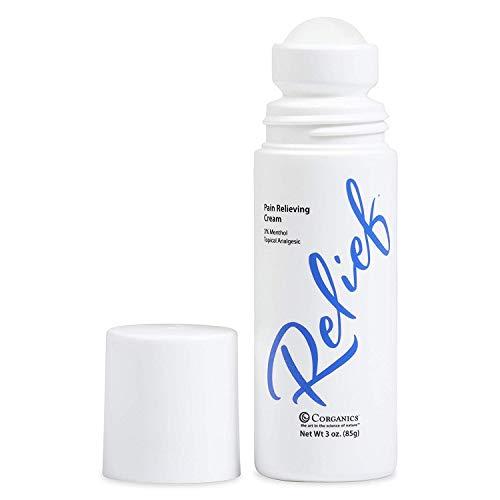 Corganics Topical Pain Relief Cream - Roll-on, 3 oz.