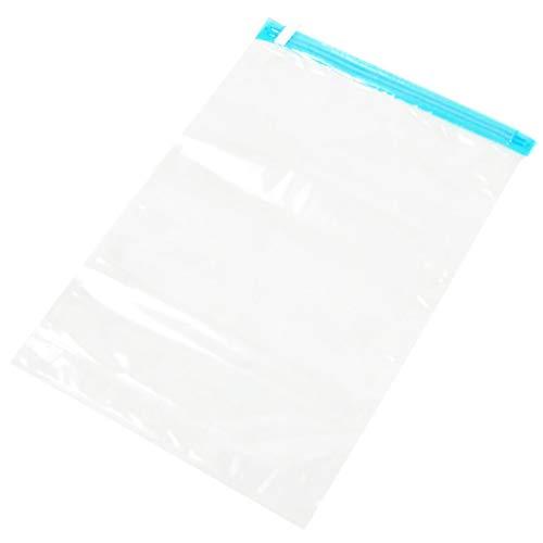 SWEEPID Bolsa comprimida al vacío manual enrollable bolsas de sellado bolsas de viaje ahorradoras de espacio bolsas de almacenamiento de ropa reutilizables bolsas de embalaje transparentes