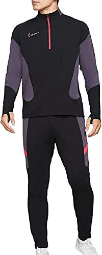 NIKE M NK Dry ACDMY FTBL Suit K MX Sweatpants, Black/Black/White/(White), 2XL Mens