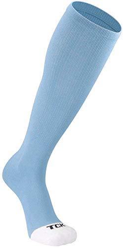 TCK Prosport Performance Tube Socks (Columbia Blue, Medium) - Columbia Blue,Medium