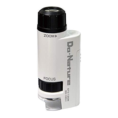 Kenko Do Nature STV-120M LED lights built-in compact portable microscope