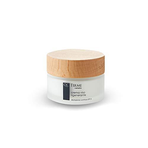 Qc Terme Fragrances Crema Viso Rigenerante Idratazione Continua - Spf 8-50 ml