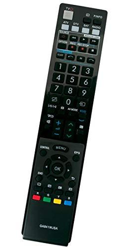 ALLIMITY GA841WJSA Fernbedienung Ersatz für Sharp Aquos TV LC-32LU705E LC-32LX705E LC-40LE812E LC-40LE822E LC-40LU822E LC-40LX812E LC-46LE810E LC-46LE812ERU LC-46LX810E