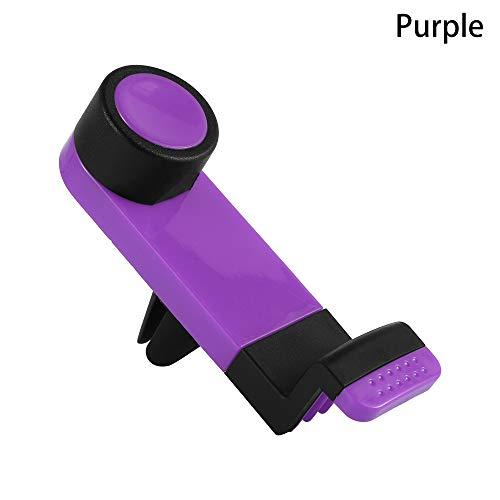 neaverler Neu Wiege Clip Telefon halten Car Phone Holder Stehen Unterst¨¹Tzung Mount Air Vent(Purple)