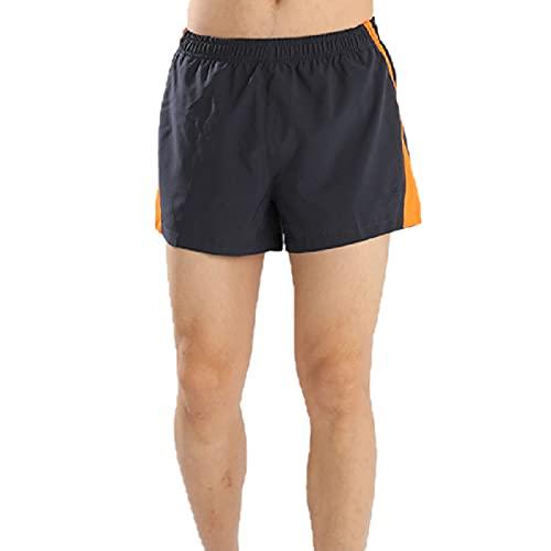 Pantalones Cortos Adolescentes Niños Deportes Fitness Secado rápido Verano Pantalones Cortos de Talla Grande Beige Baloncesto Hombres M
