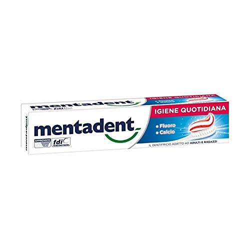 Mentadent Dentifricio Bianco Quotidiano - 100 ML