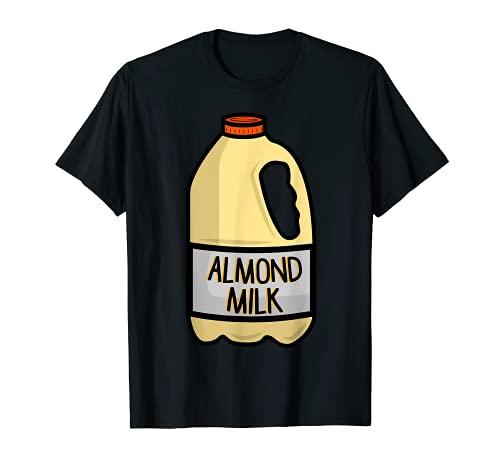 Disfraz de leche de almendra - Halloween a juego Camiseta