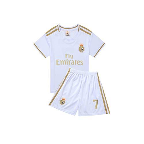 PAOFU-Camiseta Real Madrid Club Eden Hazard # 7 para Niño Fanático Jersey de...