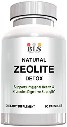 Natural Zeolite Detox Mineral Supplement Immune System and Digestive System Support 1000 mg product image