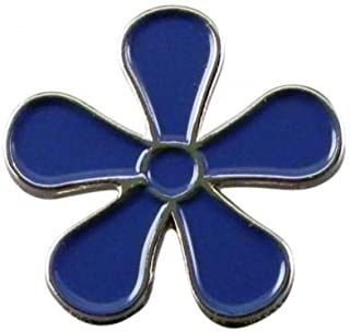 Spilla massonica con logo Forget Me Not Flower