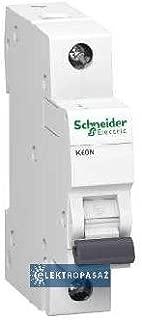 Schneider iC60N 6A Circuit Breaker, Iec 60947-2, 6Amp, 1 Pole