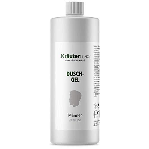 Männer Duschgel Pflege auch als Shampoo und Seife mit Zitronenöl Naturrein 1 x 1000 ml