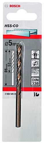 Bosch Professional Metallbohrer HSS-Cobalt (Ø 5 mm)