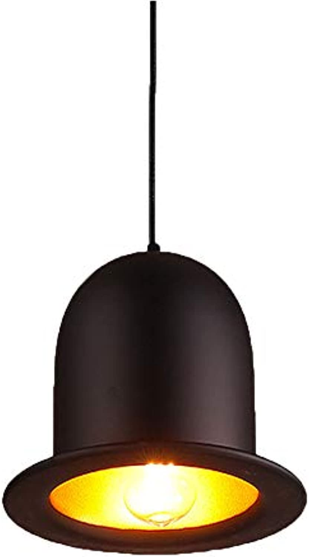 American Dome Industrial Hood Einkopf-Aluminium schwarz Hut dekorativer Kronleuchter Bar Beleuchtung