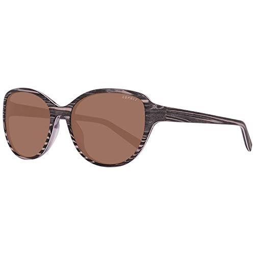 ESPRIT ET17879 55535 Sonnenbrille ET17879 535 55 Schmetterling Sonnenbrille 53, Braun
