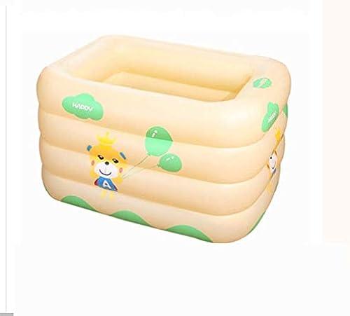 Kinderbecken Flach, Pool Neugeborenen Isolierung, Aufblasbares Poolhaus, Runde Kinder Aufblasbares Planschbecken (Farbe   B)