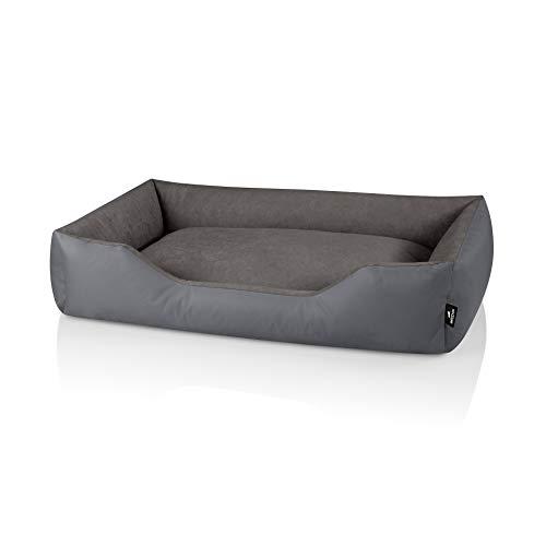 BedDog® Hundebett Zara, Hundesofa aus Cordura, Microfaser-Velours, waschbares...