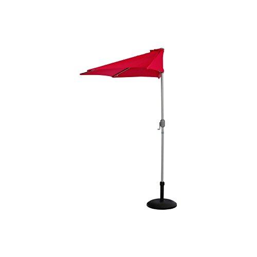 Demi parasol Serena - Diam. 2,65 m - Framboise