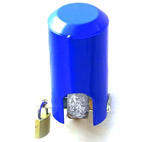 The FaucetLock| Cerradura de grifo de agua | Cerradura de grifo de manguera para exteriores, cocina/jardín, cubierta de protección de grifo de metal | Promueve la conservación del agua