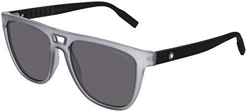 Gafas de sol Mont Blanc MB 0063 S 003 Gris Negro /