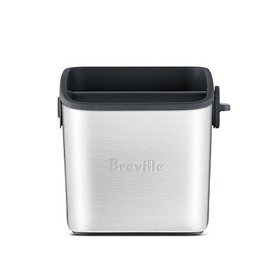 Breville Knock Box Mini in Stainless Steel Construction - Dishwasher Safe