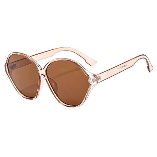 Bascar Gafas de sol vintage con ojo de gato, moda para mujer, gafas de sol para mujer, gafas de sol baratas para mujer 106 Talla única