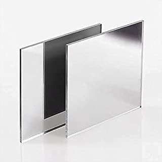 Timios Retails Plexiglass 2mm Acrylic Square Sheet (Silver, 24 x 36 Inch, Pack of 1)