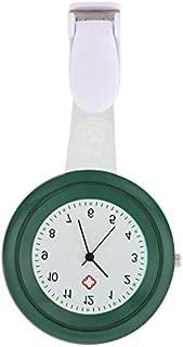 Loosnow Nurse Watch Brooch Silicone Clip Infection Control Design Nurse Doctor Paramedic Brooch Fob Watch