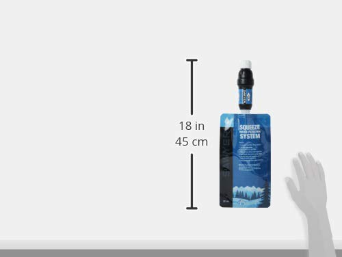 Product Image 12: Sawyer Products SP129 Squeeze Water Filtration System w/ Two Pouches,Black/Blue