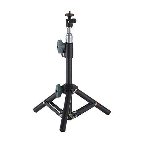 Projector Mount Mini Projector Stand, Tripod Stand Black Adjustable Height and Angle Projector Stand, Perfect for Office, Home, Stage or Studio, 32-44cm Projector Mount Bracket