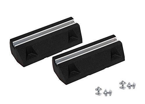 Premium Foot Set | Dämpfungssockel/Bodenkonsole/Antivibrationsfüße/Aufstellbalken für Klimaanlagen & Wärmepumpen, Größe:400