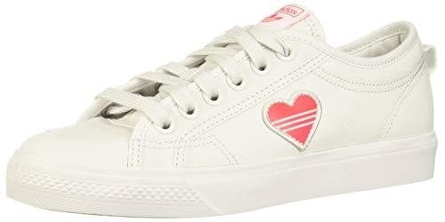 adidas Originals Damen Sneaker Nizza Trefoil W EF5074 Weiss, Schuhgröße:40