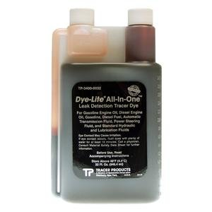 "Tracer Products TRATP34000032 Dye Oil (Dye-Lite All-in-Oneâ""¢ Oil Dye, 32 Oz.)"