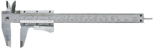 Metrica 10031 - Pie de rey (200 mm), color cromado
