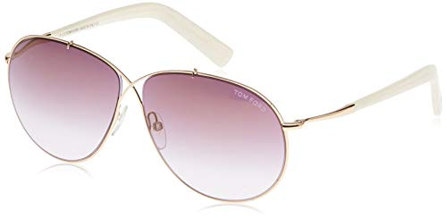 Tom Ford Occhiali da sole FT0374_28G (61 mm) Plateado, 61