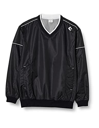 [コンバース] バスケットボール ジャケット Vネックウォームアップジャケット スリムタイプ 撥水 透湿 CB162510S ブラック 日本 O (日本サイズ2L相当)