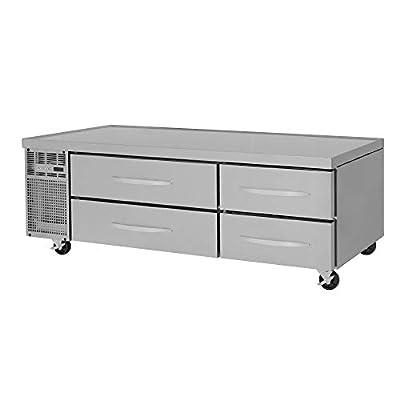 "Turbo Air PRCBE-72F-N Pro Series Single Section Freezer Chef Base, 72""W"