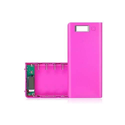 Janly DIY USB beweglicher Energienbank Aufladeeinheits Kasten Satz 8pcs 18650 Batteriehalter für...