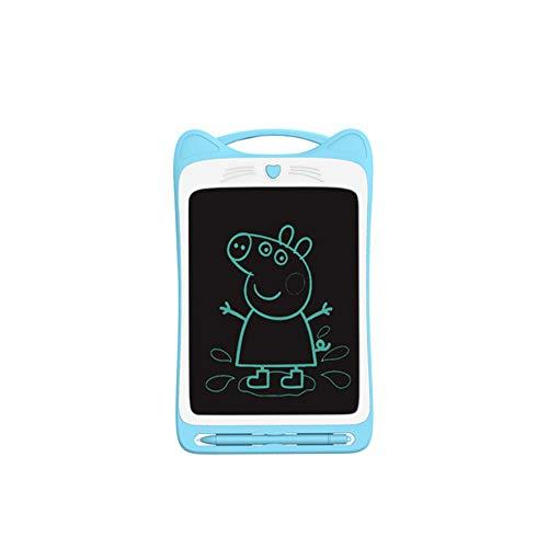 ETSXB Tableta de Escritura LCD, 8,5 Pulgadas, Tableta de gráficos electrónicos, Mini Escritura a Mano con Bloqueo de Memoria, Adecuada para la Oficina Escolar de niños en casa