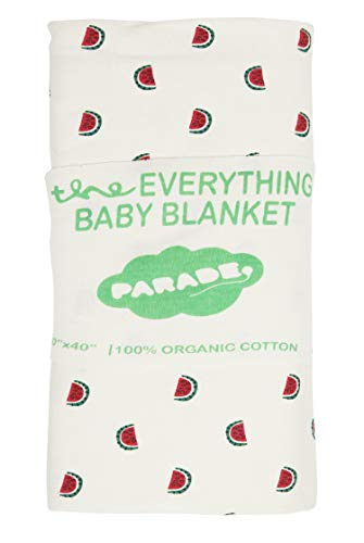 PARADE ORGANICS Everything Baby Blanket Watermelons