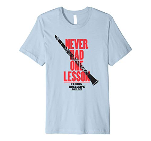 Never Had One Lesson Clarinet Premium Tee, Many Colors for Adult and Youth