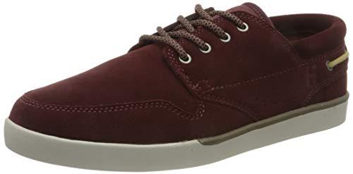 Etnies Durham, Zapatos de Skate Hombre, Burdeos/Tan, 42.5 EU