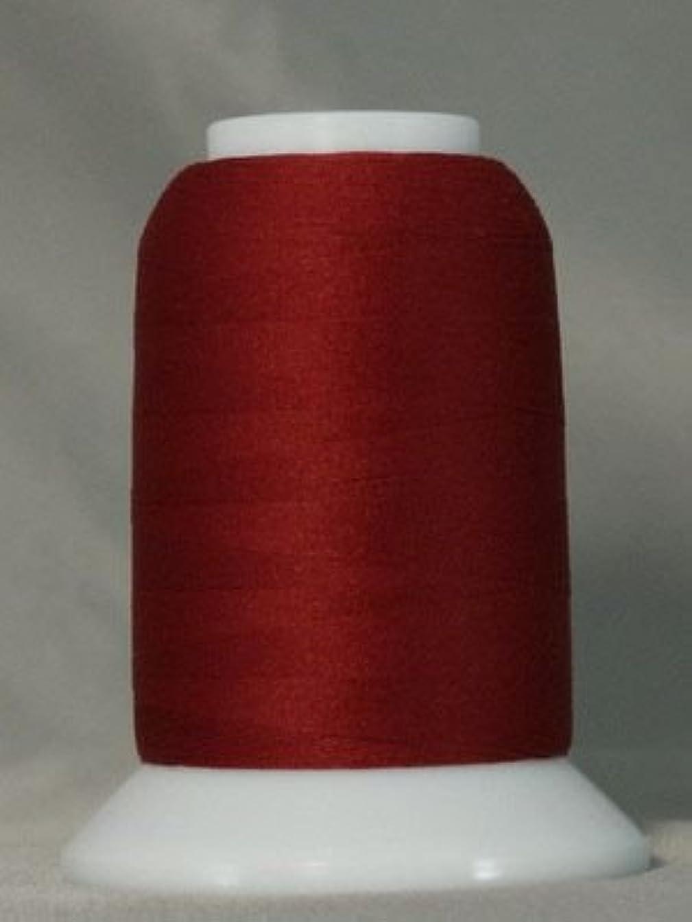 YLI Woolly Nylon Serger Thread 1000 Meters (Chestnut Red)