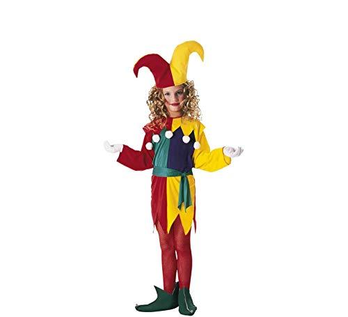 Rubies - Disfraz de arlequín para niña, talla S (3-4 años)