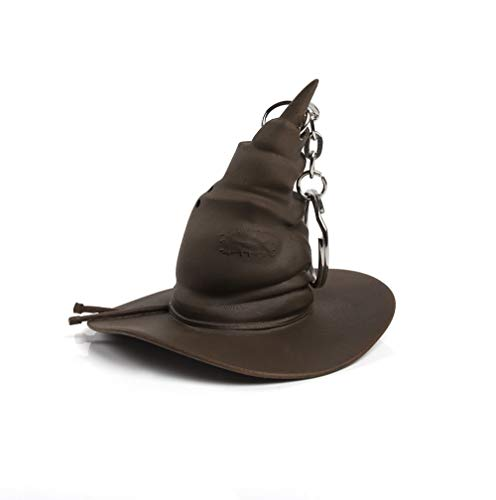 WOW! STUFF-Harry Potter JK Rowling 's Wizarding World Sorting Hat Llavero, Color marrón, Talla única WW-1023