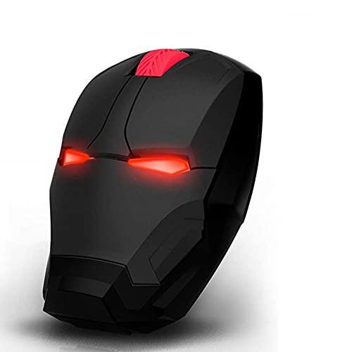 BAWAQAF Ratón inalámbrico para Juegos, botón de la computadora, Clic en Silencio, Accesorios Ajustables para el Mouse de la computadora