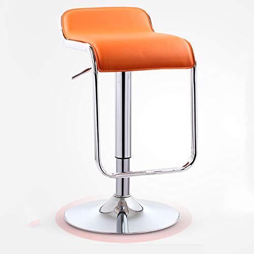 Taburetes de Bar, elevadores de sillas nórdicos, taburetes de Bar para el hogar. Taburetes Altos para recepción, sillas de Bar Minimalistas Modernas, rotación de 360 °, Ajuste de Altura de 61 ~ 81 cm