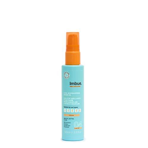Imbue Curl Worshipping Shine Oil, Haaröl für Locken - Vegan und 'Curly Girl'-Methode freundlich, 100 g