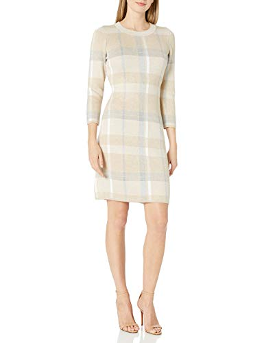 Calvin Klein Women's Crew Neck Sweater Dress