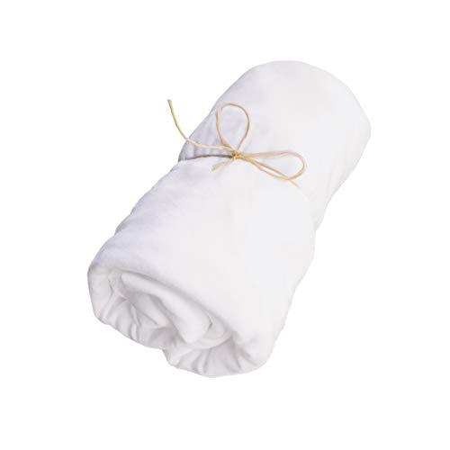 tweeto® Spannbetttuch 70x120 cm für Babybett - Spannbettlaken 100% Baumwolle Interlock-Jersey